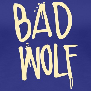 Doctor Who: Bad Wolf Womens Shirt - Women's Premium T-Shirt