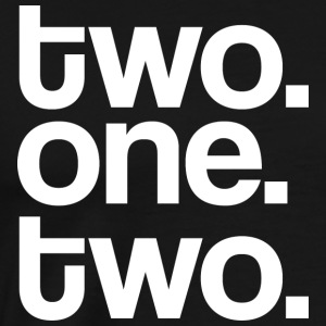 Two One Two Mens Tee Shirt by AiReal Apparel - Men's Premium T-Shirt