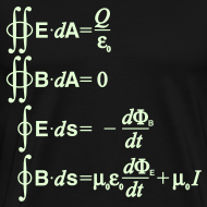 Design ~ Maxwell's Equations - Integral Form (Glow in the Dark)