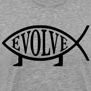 Evolve Fish - Men's Premium T-Shirt