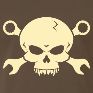 Skull 'n' Tools - Screw Pirate 2 T-Shirts - Men's Premium T-Shirt