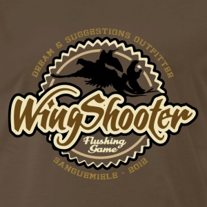 wingshooter__flushing T-Shirts - Men's Premium T-Shirt