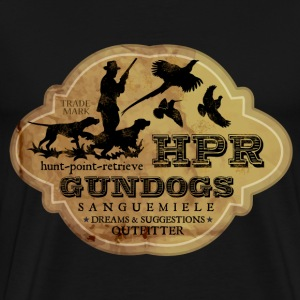 hpr_gundogs_old T-Shirts - Men's Premium T-Shirt