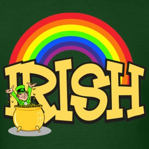 Irish Pot Of Gold T-Shirt - Men's T-Shirt