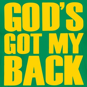 GOD'S GOT MY BACK T-Shirts - Men's Premium T-Shirt