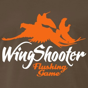 wingshooter__flushing_game T-Shirts - Men's Premium T-Shirt
