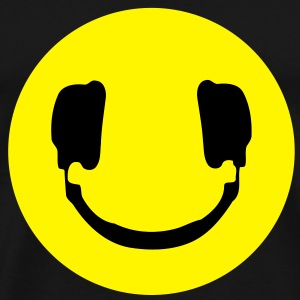 DJ smiley - Men's Premium T-Shirt