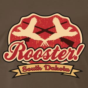 rooster_pheasant_sd T-Shirts - Men's Premium T-Shirt