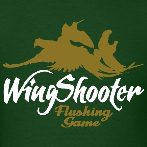 wingshooter__flushing_game T-Shirts - Men's T-Shirt