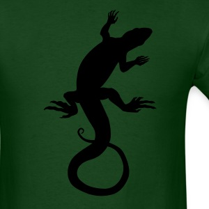 Lizard Art Shirt Classic Design - Men's T-Shirt