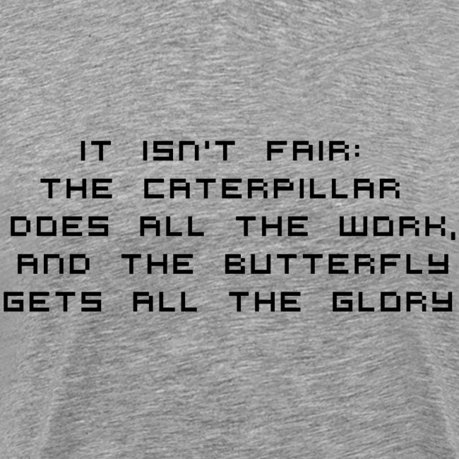 IT ISN'T FAIR