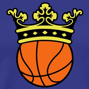 Basketball Crown T-Shirts - Men's Premium T-Shirt