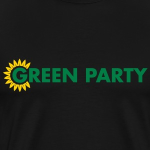 Green Party Logo - Men's Premium T-Shirt