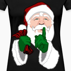 Santa Clause T-shirts Women's Plus Size Christmas