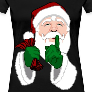 Santa Clause T-shirts Women's Plus Size Christmas  - Women's Premium T-Shirt
