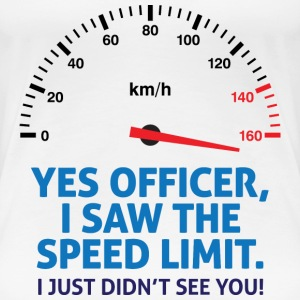 Speed Limit 2 (dd)++2012 Women's T-Shirts - Women's Premium T-Shirt