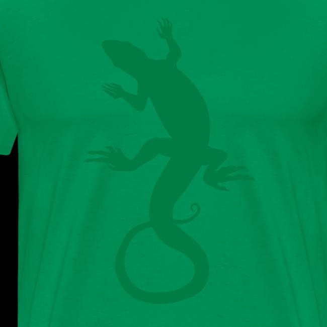 Men's Lizard Art Shirt 4XL 3XL Reptile T-shirt