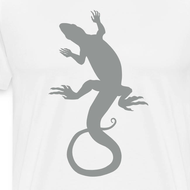 Men's Lizard Art Shirt Plus Size 4XL Reptile T-shirt