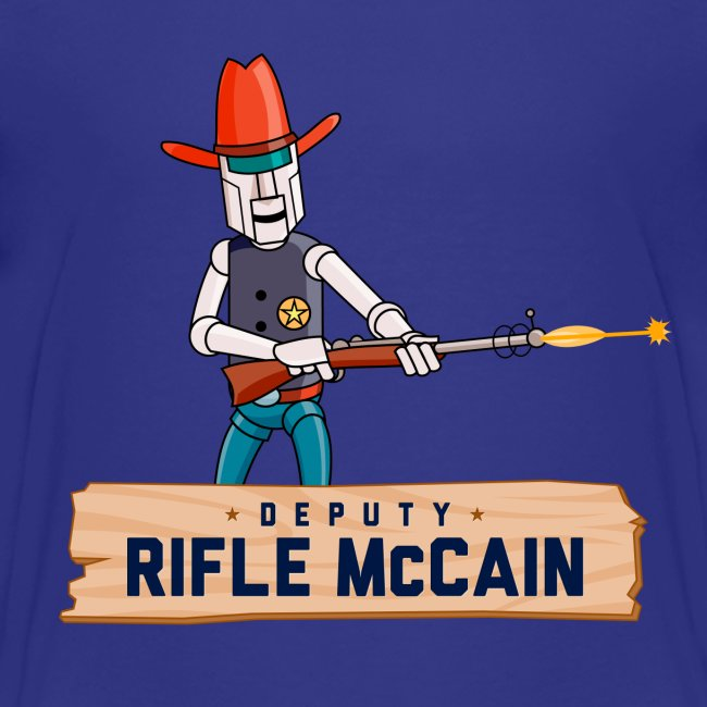 Deputy Rifle Kid's T-Shirt