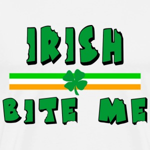 Irish Bite Me T-Shirt - Men's Premium T-Shirt