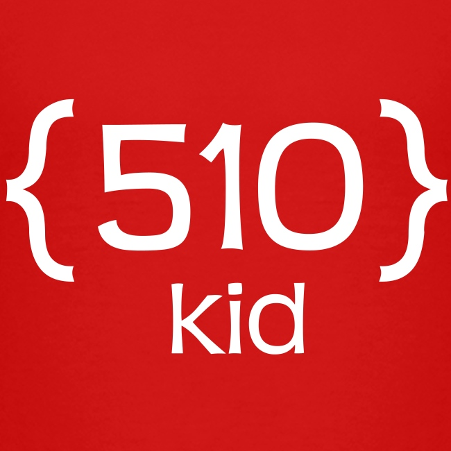 510 Kid T-Shirt for Toddlers and Preschoolers