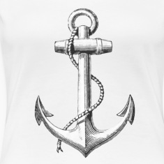 vintage anchor Women's T-Shirts