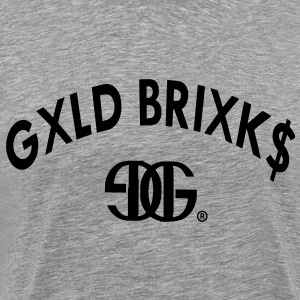 Gold Bricks T-Shirts - Men's Premium T-Shirt