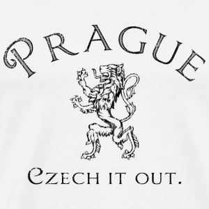Prague Czech it Out - Men's Premium T-Shirt