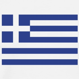 Greek flag T-Shirts - Men's Premium T-Shirt