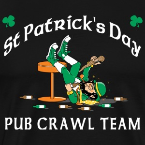 St Patrick's Day Pub Crawl Team T-Shirt - Men's Premium T-Shirt