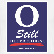 Design ~ O Still the President Big Men's Tee