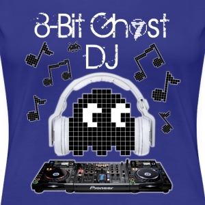8-Bit Ghost DJ - Women's Premium T-Shirt