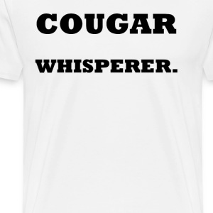Cougar Whisperer 2    BLA128 - Men's Premium T-Shirt
