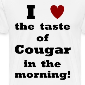 Taste of Cougar    BLA41 - Men's Premium T-Shirt