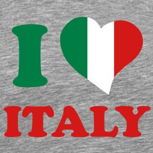 I love Italy T-Shirts - Men's Premium T-Shirt