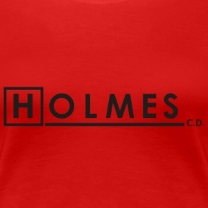 HOLMES, CONSULTING DETECTIVE - Women's Premium T-Shirt