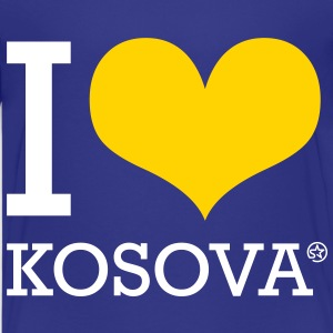 I LOVE KOSOVA - Kids' Premium T-Shirt