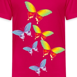 butterflies_3000 Baby & Toddler Shirts - Toddler Premium T-Shirt