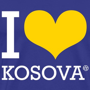 I LOVE KOSOVA - Men's Premium T-Shirt