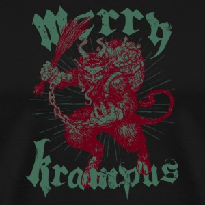MERRY KRAMPUS T-Shirts - Men's Premium T-Shirt