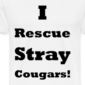Stray Cougars    BLA203 - Men's Premium T-Shirt