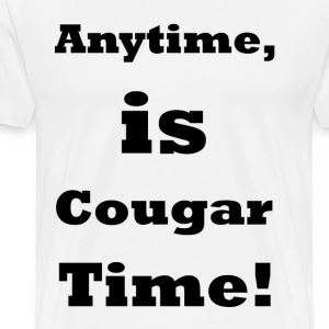 Cougar Time    BLA208 - Men's Premium T-Shirt