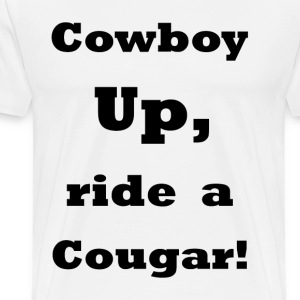 CowBoy UP    BLA215 - Men's Premium T-Shirt