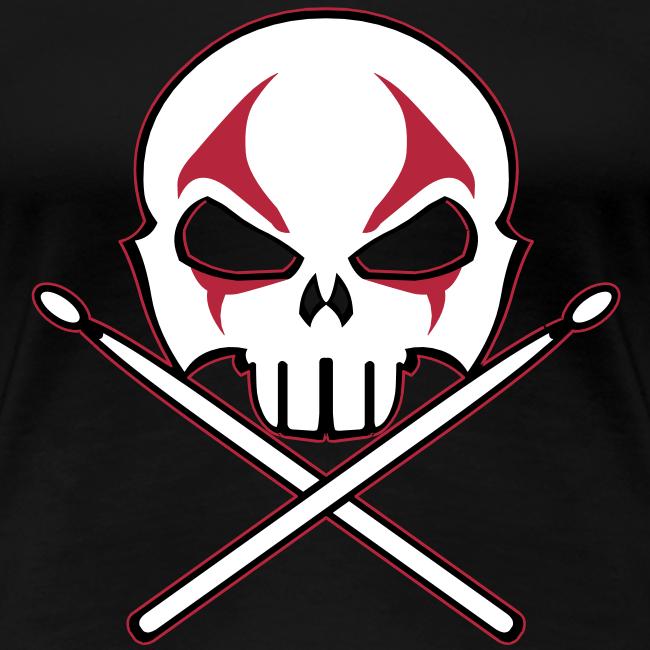 Rock and Roll Drummer Shirt Death Metal Drummer