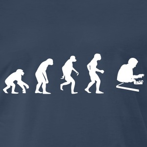 Evolution of the Accountant T-Shirts - Men's Premium T-Shirt