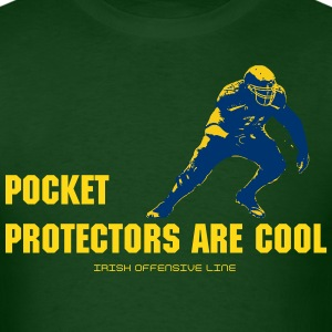 Irish Offensive Line - Men's T-Shirt