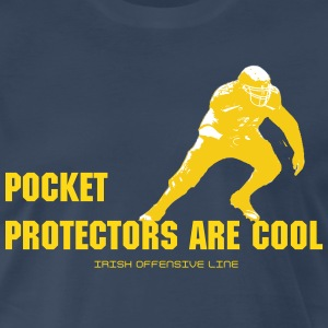 Irish Offensive Line - Men's Premium T-Shirt