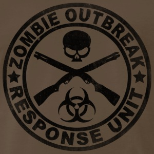 Zombie Outbreak Response Unit - Men's Premium T-Shirt