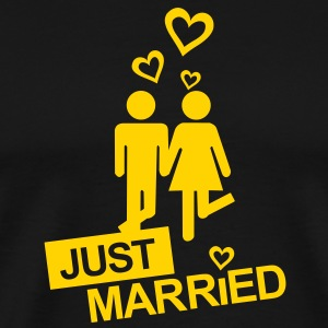 MARRIAGE, MARRIED, MARRIED, honeymoons, LOVE T-Shi - Men's Premium T-Shirt