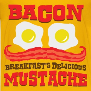 Bacon Mustache - Kids' Premium T-Shirt